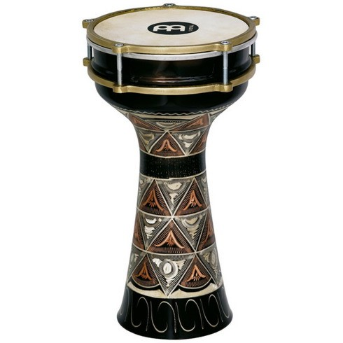 HE-204_Darbuka_Copper_engraved