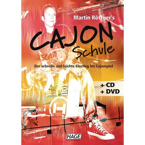 Cajon Lehrbuch + DVD